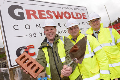 Brick Laying Ceremony Marks First Milestone for New Luxury Care Home